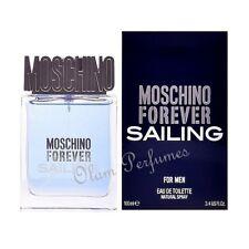 Moschino Forever Sailing for Men Eau de Toilette Spray 3.4oz 100ml * New