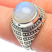 Rainbow Moonstone 925 Sterling Silver Ring Size 8.5 Ana Co Jewelry R38741F