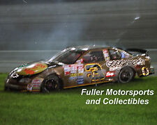 DALE EARNHARDT SR CRASH AT THE WINSTON 1998 #3 BASS PRO SHOPS NASCAR 8X10 PHOTO