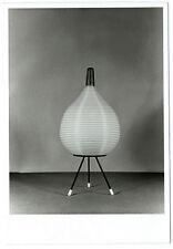 photo de lampe design japonisant tripode 1950 Designer Tripod lamp