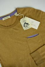 RRP €79 SCOTCH & SODA Men 2XL Soft Cotton Crew neck With Wool Sweater 5050*mm