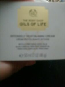 The Body Shop Oils Of Life Intensely Revitalising Cream 50 ml * FREE POSTAGE *