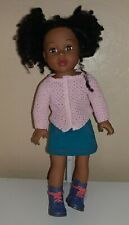 "American Girl Madame Alexander African American 18"" Doll Fashion Clothes Shoes"