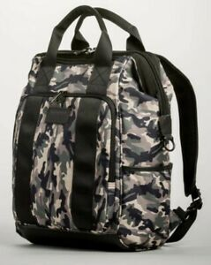 """SWISSGEAR 16.5"""" Zip Top Tote Laptop Backpack Green Camo - New With Tags"""
