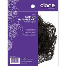 Cotton Triangle Net Black Hair Care Styling Tools Extra-Large Lockstitches New