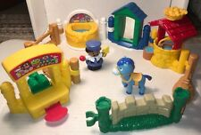 2003-4 FISHER PRICE LITTLE PEOPLE  FUN PLAY SET TOY LEARN HORSE WELL MIRROR 10Pc