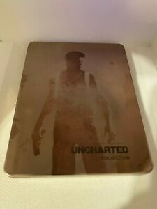 """Uncharted: Collection Steelbook Case PS4 (NO GAME) """"CUSTOM"""""""