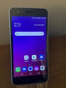LG Tribute Empire 16GB Prepaid Smartphone, Silver (Boost Mobile)