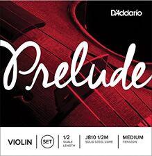 D'addario Prelude Corde Violon Violin tension Medium 1/2m J810