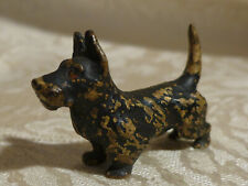 Antique Austrian Cold Painted Bronze Dog Miniature West Highland Terrier Scotty