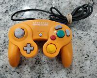 Official Nintendo Orange Spice Gamecube Controller | OEM DOL-003 Clean Japan
