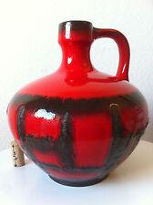 Ruscha Lava Vase Otto Gerharz 60s 70er pop 70s pottery ceramics wgp, roth es ära