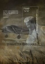 AMELIA EARHART & LOCKHEED ELECTRA Model 10E Aircraft Stamp Sheet #2/2012 Burundi