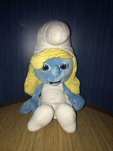 "SMURFETTE The Smurfs 21"" Large Huge Plush Stuffed Toy. 2011 Peyo Jakks Pacific"