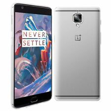 Transparent Silicone/Gel/Rubber Fitted Cases for OnePlus Mobile Phones