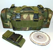 Molle Outdoor Camping Hunting Bug Out Bag Pack & 3-Hr Eco-Friendly Buddy Burner