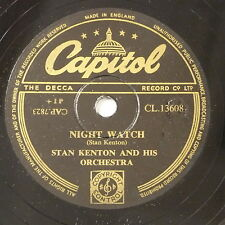 78rpm STAN KENTON night watch / francesca