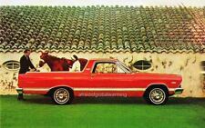 Old Print. Red 1967 Ford Fairlane Ranchero Auto Ad