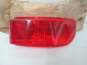 Mopar NOS 1951-52 Plymouth, 2 Door Fast Back Deluxe Right Tail Lamp Lens 1345853