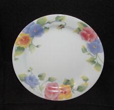 "Corelle SUMMER BLUSH PANSY Design 7-1/4"" Dessert or Bread Plate EUC"