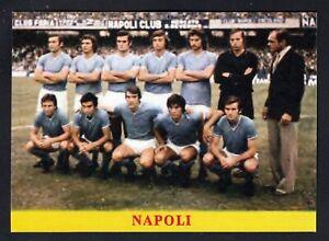 RARA FIGURINA CALCIATORI CALCIO SQUADRE BAGGIOLI ? 1975 NAPOLI