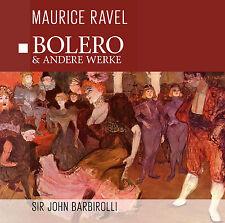 CD Bolero de Maurice Ravel et D'Autres Werke avec Sir John Barbirolli