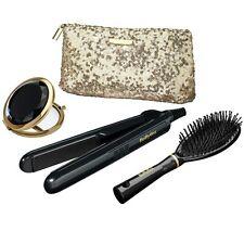 Nuevo Elegante Plancha de Pelo Babyliss puro glamour Set-en Negro