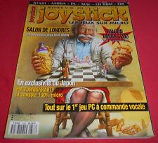 Magazine Joystick [n°38 Mai 93] Atari Amiga PC Falcon 1200 *JRF