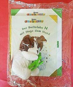 Mein Tier ABC Nr.8 - Der Buchstabe H mit Hugo dem Hund + Plüschtier Hachette OVP