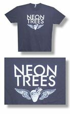 Neon Trees- NEW Wing & Heart LIGHTWEIGHT T Shirt- LARGE SALE FREE SHIP TO U.S.!