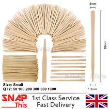 Wax Spatula Tattoo Eyebrow Wood Stick Wooden Waxing Small Depressor Hair Removal