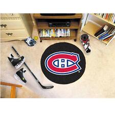 NHL - Puck Mat 27 Inch Diameter Non Skid Rug Mat Floor Protector