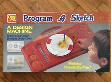 Vintage, Ohio Art, Program A Sketch (A Design Machine) Rare (Spirograph)