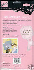Anita's Manos Libres 2.5 x Lupa. cordón ajustable + Alta Potencia Close Up Lente