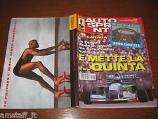 AUTOSPRINT 1994/24=COVER MICHAEL SCHUMACHER BENETTON=GUIDA 24 ORE LE MANS=