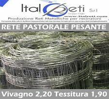 Rete Pastorale Pastorizia recinzione pecore PESANTE H 100 125 140 MT 25-50-100