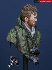 Life miniatures guerre du vietnam photographe 1/10th buste non peinte kit