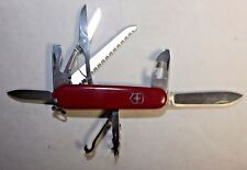 Victorinox Swiss Army Knife - Huntsman - Red - B/B+ Condition