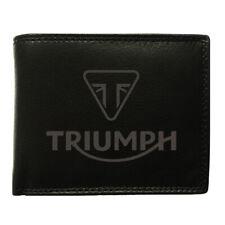 Triumph Echtleder Geldbeutel, Geldbörse, Gloria, World Globe, Vitess Legend TT