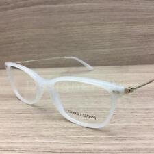 Giorgio Armani AR 7084 Eyeglasses White Gold 5435 Authentic 52mm