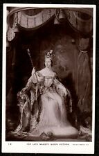 1907 HER LATE MAJESTY QUEEN VICTORIA REAL PHOTO POSTCARD