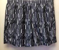 New Under Armour Mens 2XL Black Gray Elastic Waist Running Heatgear Shorts