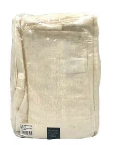 """Waterford Linens Tablecloth Lunar Ivory 70"""" x 144"""""""