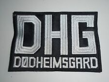 DODHEIMSGARD  EMBROIDERED BLACK METAL PATCH