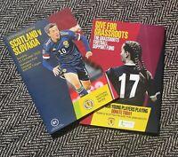 Scotland v Slovakia 11/10/2020 UEFA NATIONS LEAGUE PROGRAMME!IMMEDIATE DISPATCH!