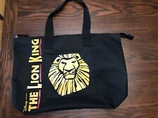 Lion King Disney Tote Bag Official Broadway West End Musical Theater 19.5""