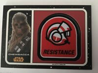 2017 Star Wars Journey to The Last Jedi Galactic Emblem Patch MP-CC Chewbacca
