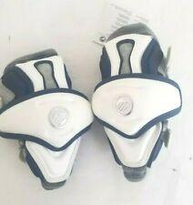 New Maverik Rome NXT Lacrosse Arm Pads Adults Medium Navy Blue/ White