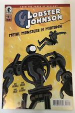Lobster Johnson Metal Monsters of Midtown #3 Dark Horse Comic Mignola