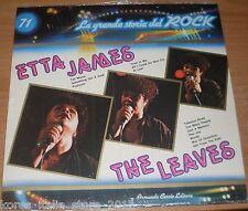 """ETTA JAMES THE LEAVES """"La Grande Storia del ROCK (71)"""" Vinile LP 33 Giri"""